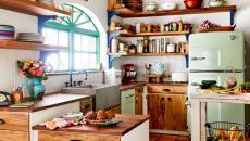 cuisine accueillante rétro vintage rustique