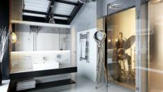 touches masculines déco salle de bain de luxe
