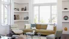 meuble encastré bibliothèque d'appoint coin séjour