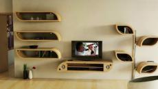 éco inspiration meuble de séjour design italien