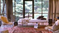 salon, bureau ou chambre véranda de luxe maison