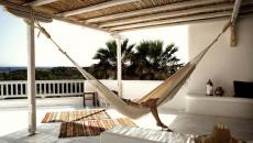 balcon suite hôtel de luxe mykonos vacances grèce