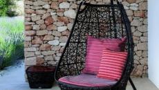 fauteuil suspendu mobilier de jardin design