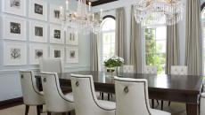 ameublement élégant salle à manger maison moderne