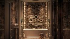 aménagement original salle de bain