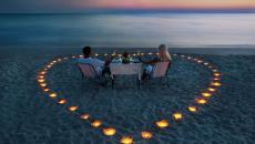diner romantique cadre exotique en amoureux