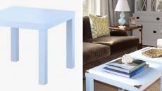 personnaliser le design table simple ikea