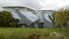 Bâtiment architecture contemporaine Louis Vuitton
