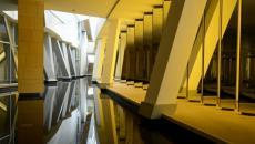 Fondation Louis Vuitton siège vue d'intérieur