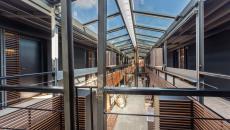 espaces communs hôtel insolite atypique paris seine