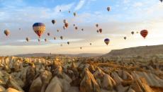 Gamirasu Hôtel dans la roche volcanique en Turquie