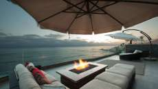 parasol balcon appartement de luxe