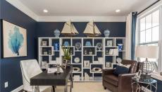 intérieur décoration marine pour bureau à la maison