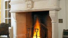 cheminée médiévale déco maison