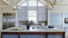 cuisine placards en bleu différents