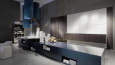 grande cuisine design minimaliste futuriste luxe