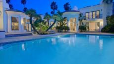 grande piscine turquoise californie