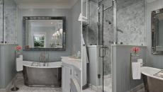Aménagement salle de bain luxe