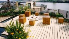 design moderne terrasse en bois ameublement