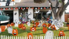 décoration Halloween jardin outdoor idées originales
