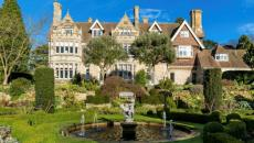 hôtel aristocratique à la campagne