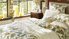 esprit déco chambre à coucher hiver