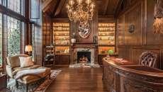 bureau bois aménagement maison