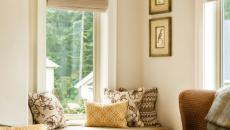 banquette sous fenêtre window seat séjour