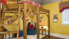 lit mezzanine pour une chambre d'enfant