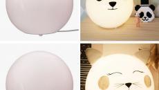 enjoliver lampes figures animaux personnaliser lampes chambre enfant