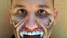 maquillage halloween homme source d'inspiration