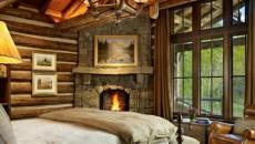 chambre de chalet vacances montagne