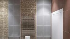 niche de rangement petite salle de bains optimisée