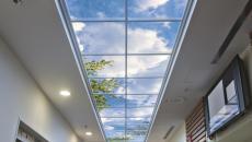 plafond ciel artificiel idée déco originale