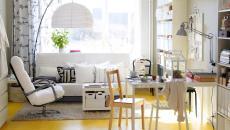 jaune sympa déco pétillante salon maison familiale