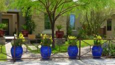accessoire déco jardin maison moderne