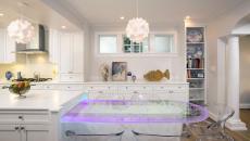 décoration pour cuisine éclairage réglette led
