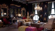 couleurs sombres sobres design déco steampunk maison