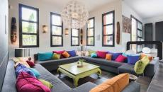 décoration design maison en couleurs