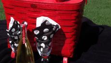 déco personnelle design d'un panier de pique-nique