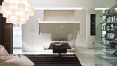 lit escamotable transformer le séjour en chambre