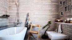 belle salle de bain design rustique modernisé