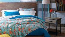 couleurs fraiches déco sympa chambre design éclectiquue