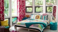 couleurs multiples exotiques design