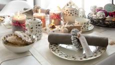 belle table pour repas de Noël