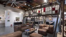 Bel espace industriel transformé en loft