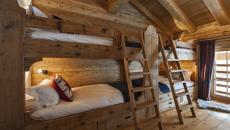 chambre des enfants lits en bois massif