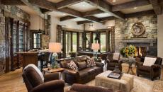 esprit luxe design intérieur rustique salon