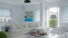 design intérieur lumineux en blanc
