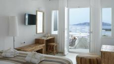 suite vue sur mer hôtel Mykonos